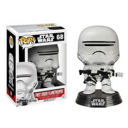 Figura Flametrooper First Order de Star Wars Episodio VII Cabezon Pop Funko 10 cm