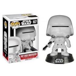 Figura Snowtrooper First Order de Star Wars Episodio VII Cabezon Pop Funko 10 cm