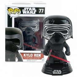 Figura Kylo Ren Limited Edition de Star Wars Episodio VII Cabezon Pop Funko 10 cm