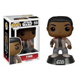 Figura Finn de Star Wars Episodio VII Cabezon Pop Funko 10 cm