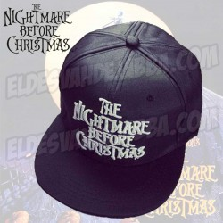 Gorra Pesadilla Antes de Navidad - Color Negro - The Nightmare Before Christmas