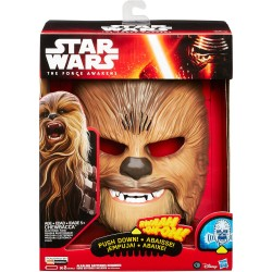 Mascara Chewbacca Electronica con sonido Star Wars Episode VII