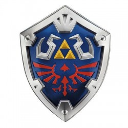 Replica Escudo The Legend of Zelda Link Hylian Shield - 48 cm