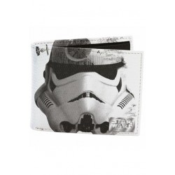 Cartera Billetera Stormtrooper Death Star Helmet Star Wars