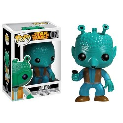 Figura Greedo Star Wars Cabezon Pop Funko 10 cm