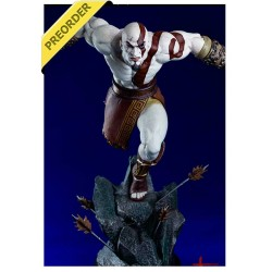 Estatua Lunging Kratos God of War 1/4 48 cm GAMING HEADS