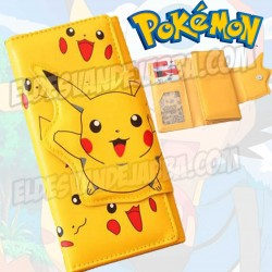 Cartera Billetera Pikachu Pokemon Modelo 1