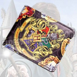 Cartera Billetera Harry Potter Howarts Crest