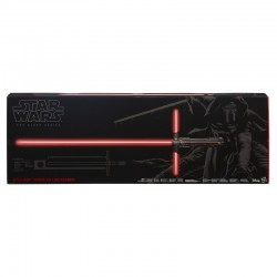 Sable Laser Kylo Ren Force FX Black Series Lightsaber