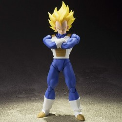 Figura Super Saiyan Vegeta 13,5 cm Dragon Ball Z S.H. Figuarts