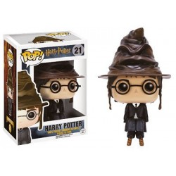 Figura Harry Potter Con Sombrero Seleccionador - Sorting Hat - de Harry Potter Cabezon Pop Funko 10 cm