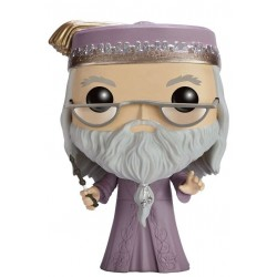 Figura Albus Dumbledore Con Varita (with Wand) de Harry Potter Cabezon Pop Funko 10 cm