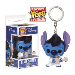 Llavero Elvis Stich Mini Funko Pop Lilo y Stitch