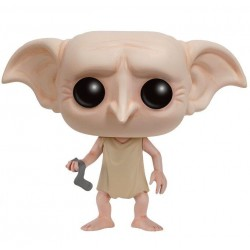 Figura Dobby de Harry Potter Cabezon Pop Funko 10 cm