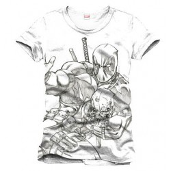 Camiseta Deadpool Sketch