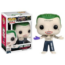 Figura The Joker de Escuadron Suicida Cabezon Pop Funko 10 cm
