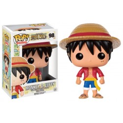 Figura Monkey D. Luffy One Piece Funko Pop