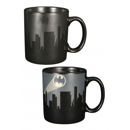 Taza de batman dark sensitiva al calor - Taza termica para cafe ...