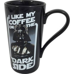 Taza Star Wars Darth Vader Dark Side Latte-Macchiato