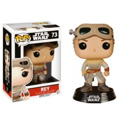 Figura Rey & Goggles Limited Edition de Star Wars Episodio VII Cabezon Pop Funko 10 cm
