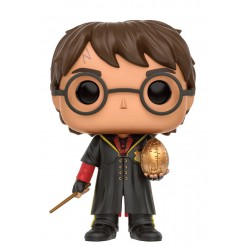 Figura Harry Potter Triwizard with Egg Huevo Doradode Harry Potter Cabezon Pop Funko 10 cm
