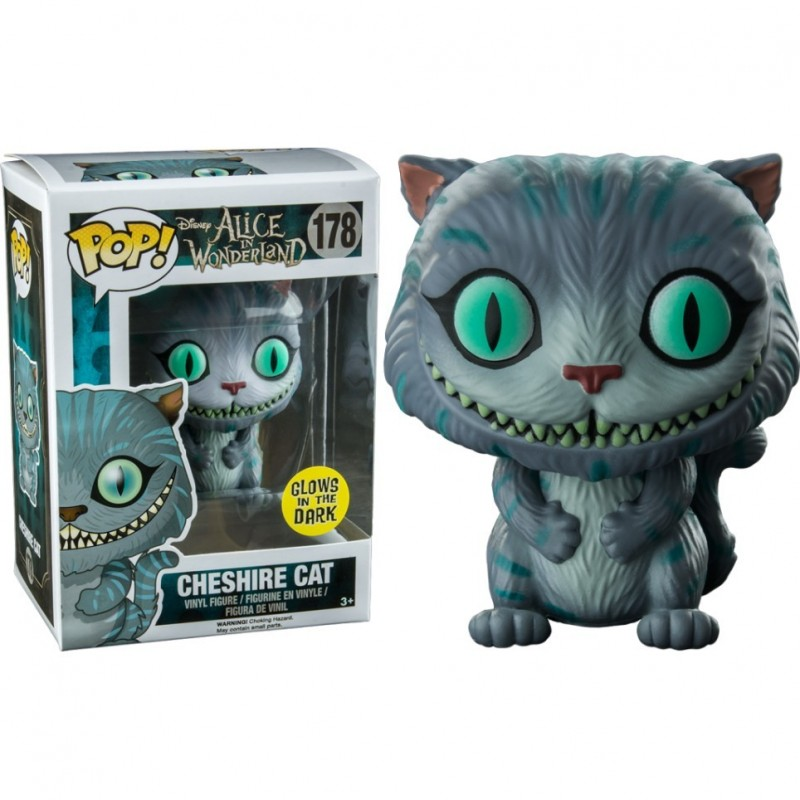 Cheshire Cat Pop Glow In The Dark
