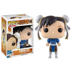 Figura Chun-Li Street Fighter POP Funko 9 cm