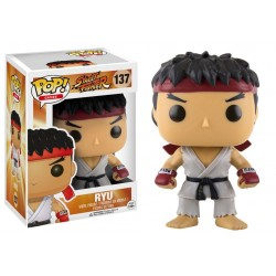 Figura Ryu Street Fighter POP Funko 9 cm