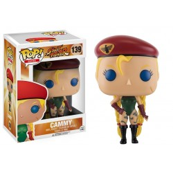Figura Cammy Street Fighter POP Funko 9 cm