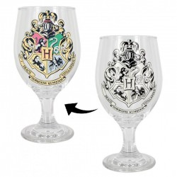 Copa Cristal Hogwarts Cambia de Color Harry Potter