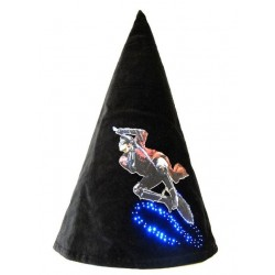 Sombrero Con Luces Led Nimbus 2000 Harry Potter