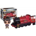 Figura Harry Potter Con Tren Hogwarts Express Cabezon Pop Funko