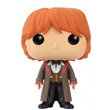 Figura Ron Yule Ball de Harry Potter Cabezon Pop Funko 10 cm