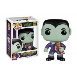 Figura Eddie Munster de La Familia Monster Cabezon Pop Funko 10 cm