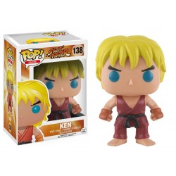 Figura Ken Street Fighter POP Funko 9 cm