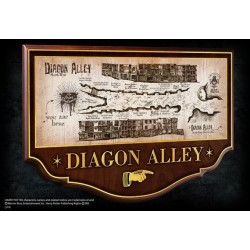 Replica Cartel Callejon Diagon Alley Harry Potter Noble Collection