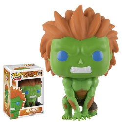 Figura Blanka Street Fighter POP Funko 9 cm