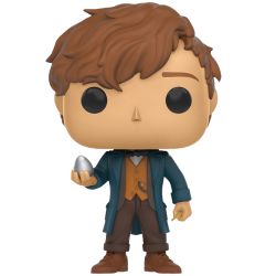 Figura Newt Scamander Animales Fantasticos y Donde Encontrarlos Harry Potter Cabezon Pop Funko 10 cm