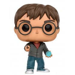 Figura Harry Potter Con Profecia Cabezon Pop Funko 10 cm