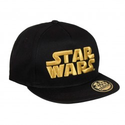 Gorra Star Wars Logo Dorado New Era Premium Gold