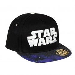Gorra Star Wars Logo Blanco New Era Premium