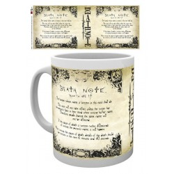 Taza Death Note Reglas Rules