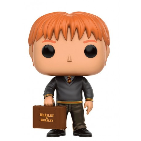 Figura Fred Weasley de Harry Potter Cabezon Pop Funko 9 cm