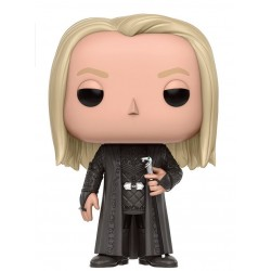 Figura Lucius Malfoy de Harry Potter Cabezon Pop Funko 9 cm