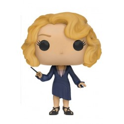 Figura Queenie Goldstein Animales Fantasticos y Donde Encontrarlos de Harry Potter Cabezon Pop Funko 9 cm