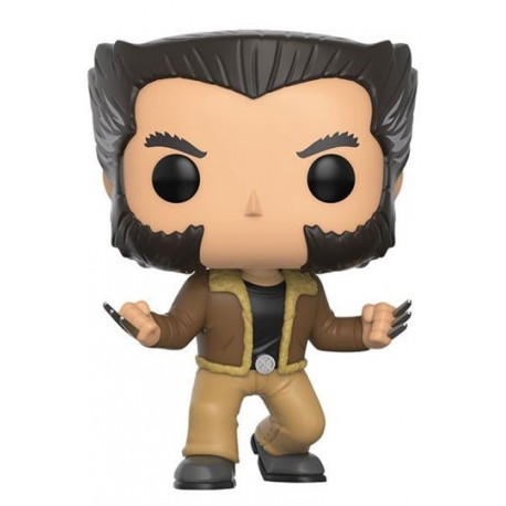 Figura Logan Lobezno X-Men Cabezon Pop Funko 10 cm