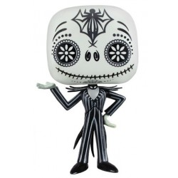 Figura Jack Skellington Day Of The Dead L'etrange Noel de Mr Jack Pop Funko Pesadilla antes de Navidad 10 cm