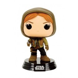 Figura Jyn Erso con Capucha Hooded de Star Wars Rogue One Funko Pop