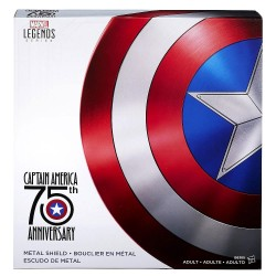 Replica Escudo Capitan America 75th Aniversario Marvel Legends Escala 1/1 61 cm