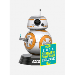 Figura BB-8 Edicion Limitada Summer Convention 2016 de Star Wars Episodio VII Cabezon Pop Funko 10 cm
